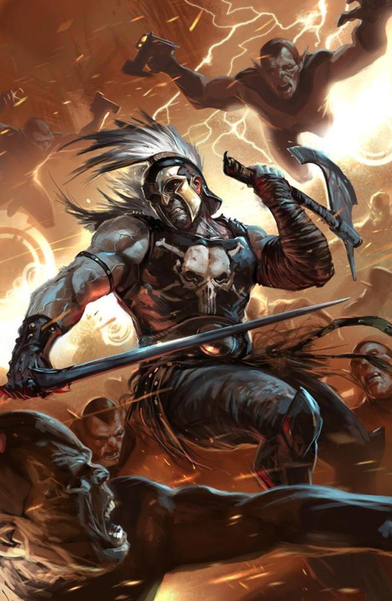 Olympien Arès, dieu de la guerre ou Mars