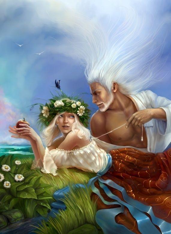 Gaia And Ouranos Ouranos et gaia s'unisent pour